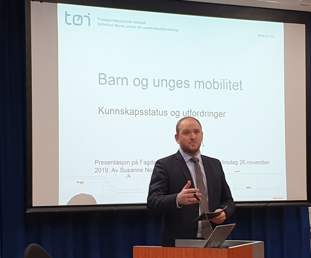Startskudd for Barnas transportplan 2022–2033